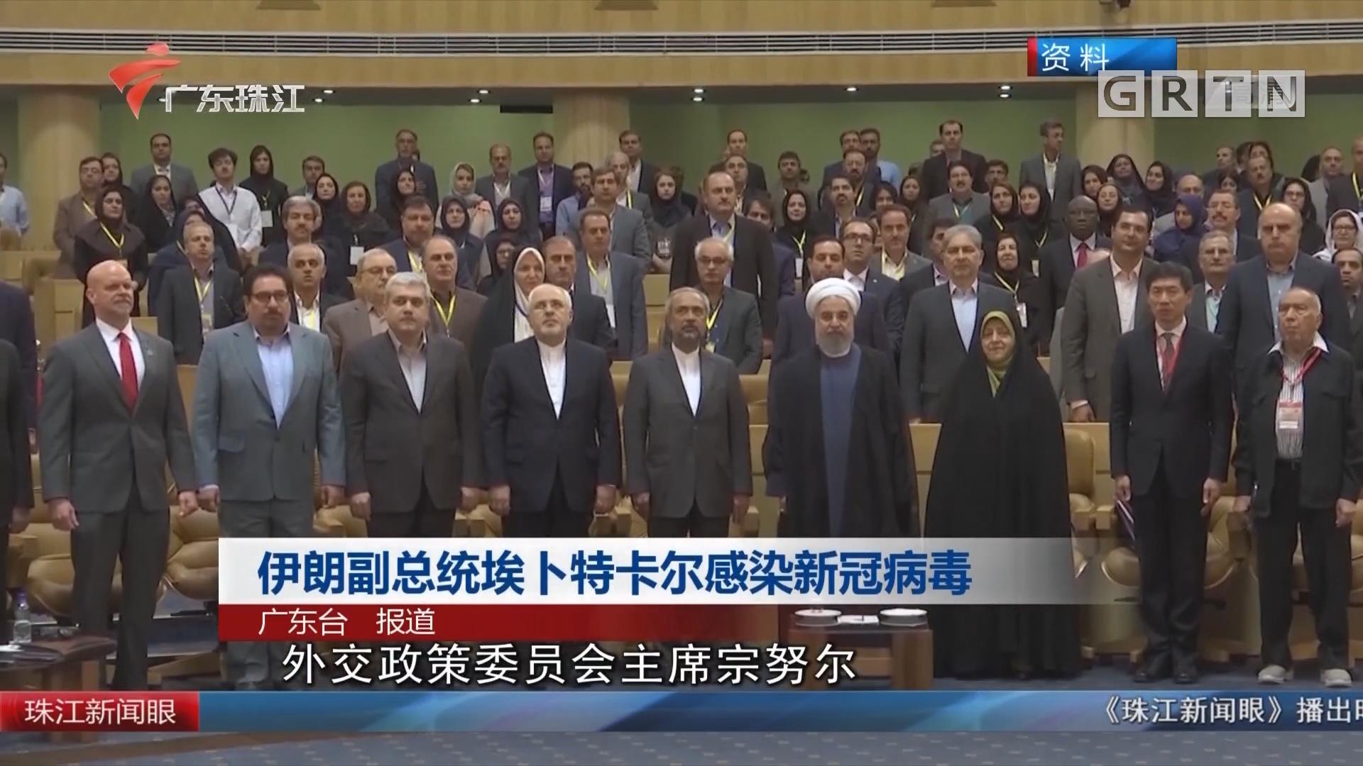 伊朗副总统埃卜特卡尔感染新冠病毒