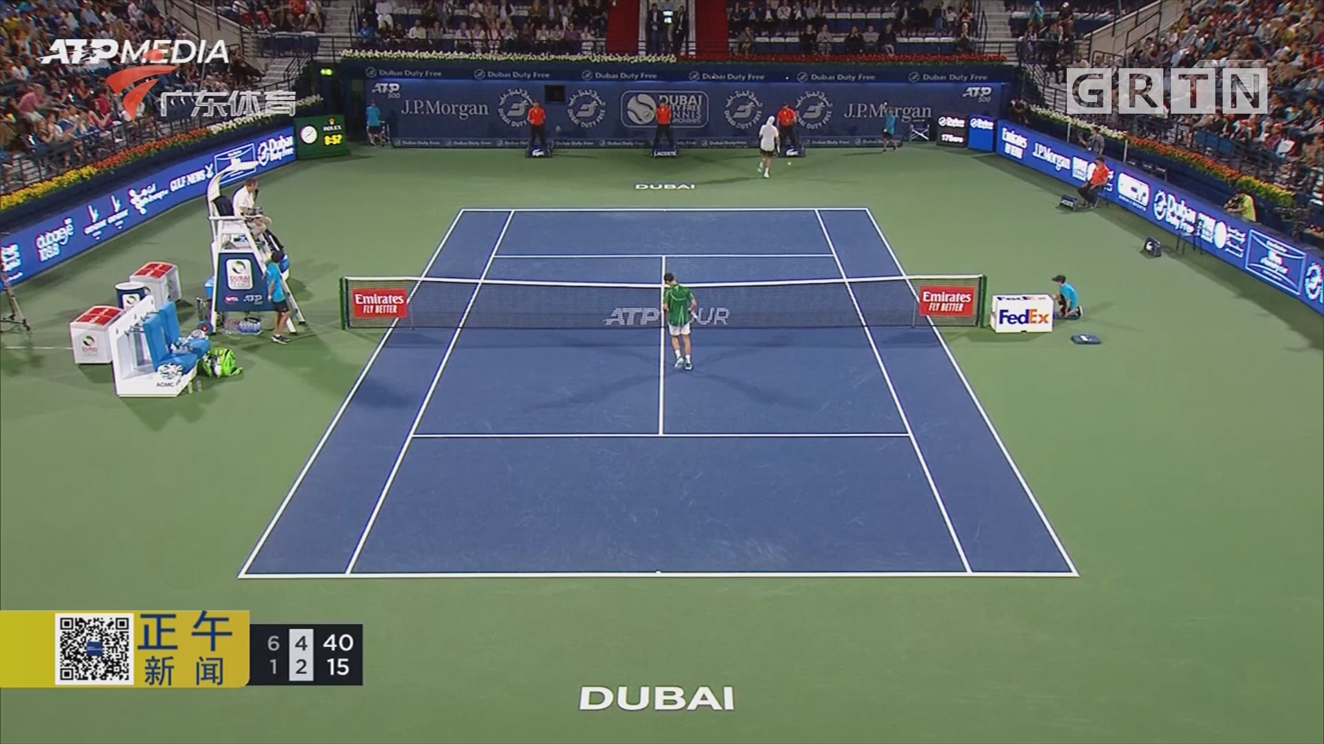ATP迪拜赛 德约科维奇收获开门红