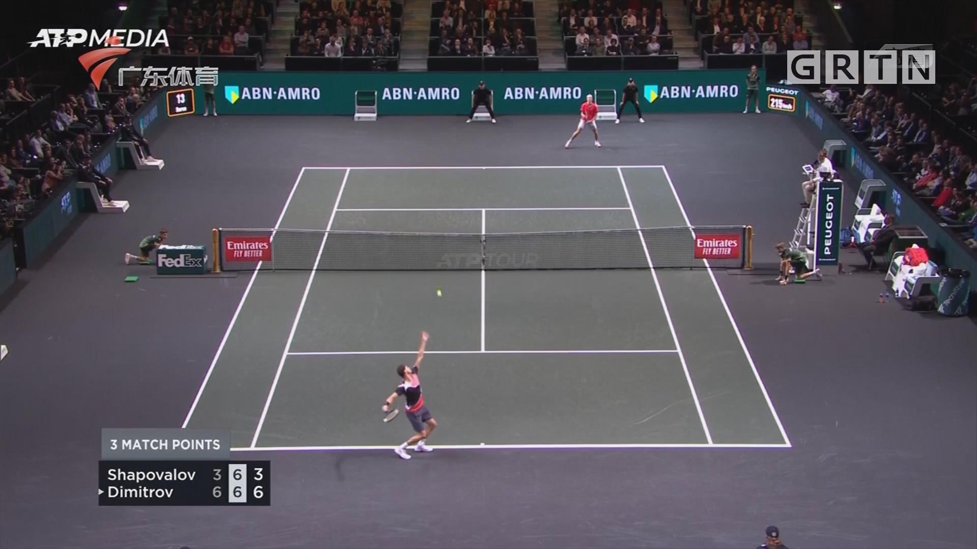 网球世锦赛 巴斯塔战胜马达里诺
