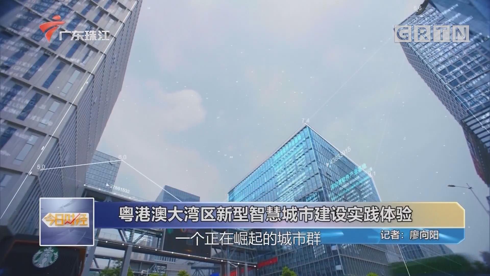 粤港澳大湾区新型智慧城市建设实践体验