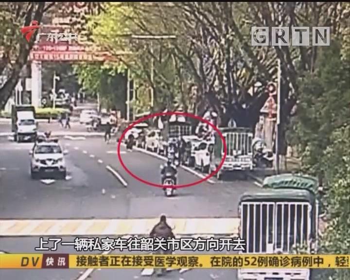 """(DV现场)韶关:兄妹出走惹妈愁 民警""""开眼""""助找寻"""