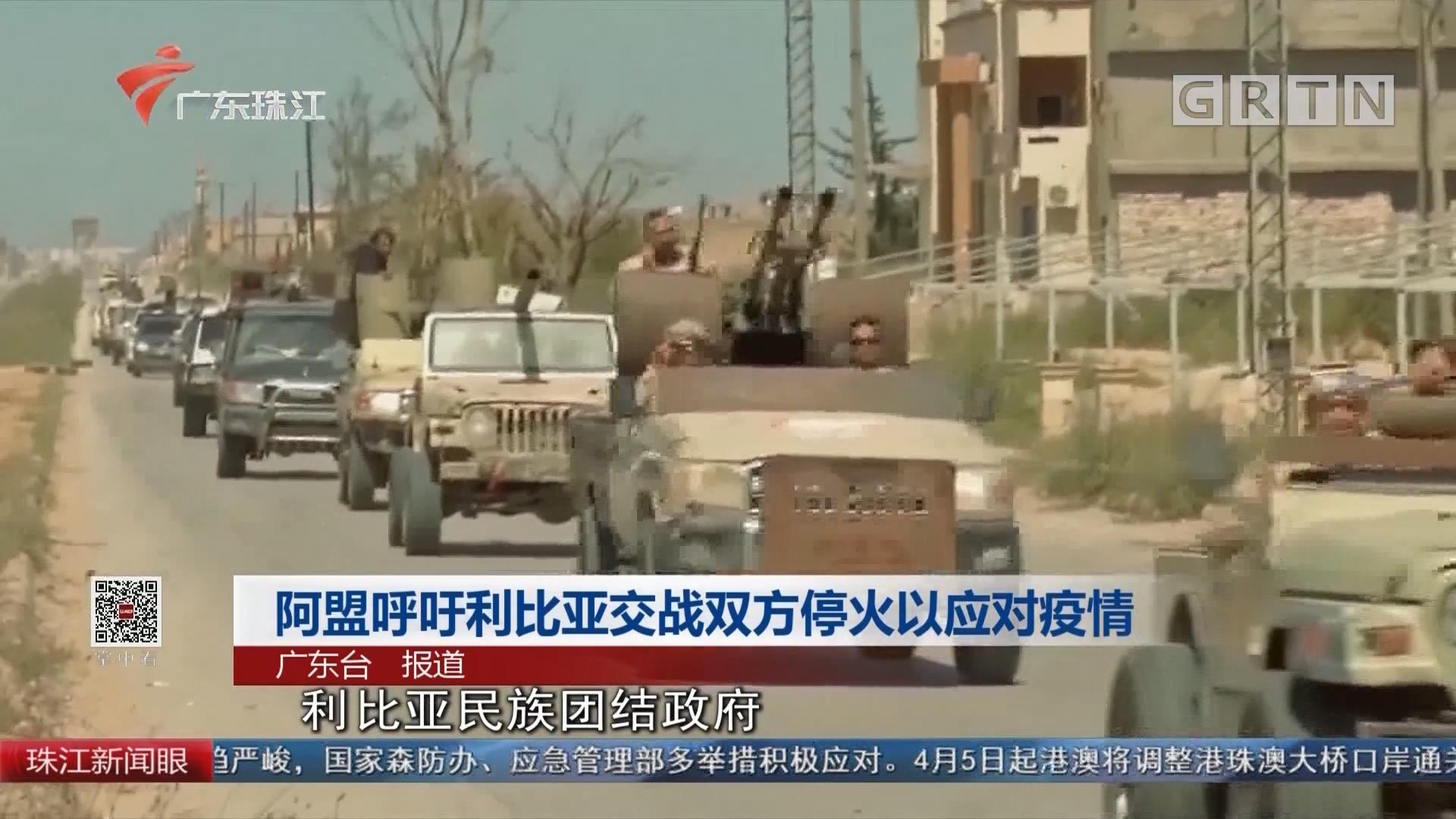 阿盟呼吁利比亚交战双方停火以应对疫情
