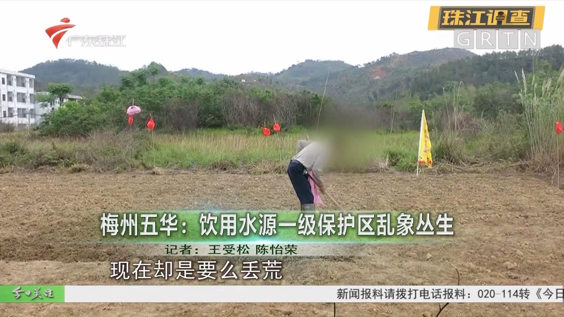 梅州五华:饮用水源一级保护区乱象丛生