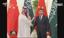 习近平会见沙特阿拉伯王国王储