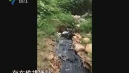 台山:污水臭气惹人厌 环保部门介入调查