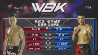 使命召唤自由搏击65公斤级 贺彪VS杨云鹏
