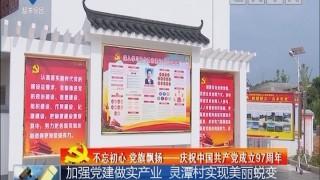 [2018-07-07]全市新闻联播:加强党建做实产业 灵潭村实现美丽蜕变
