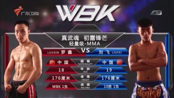 初露锋芒 轻量级—MMA 罗鑫VS刘飞