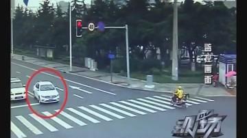 拖行交警500米 冲动司机被拘留