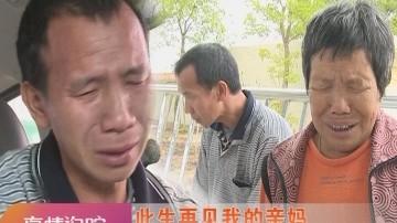 [2017-07-26]真情追踪:此生再见我的亲妈 流浪30年又何妨?