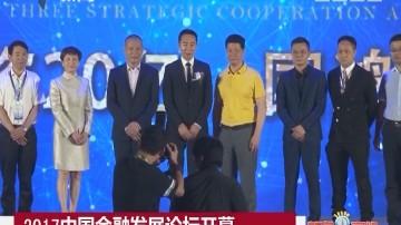2017中国金融发展论坛开幕