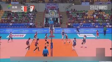 中国女排二队无缘亚锦赛决赛