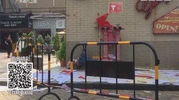 广州番禺:安装广告牌 一工人高空触电坠亡
