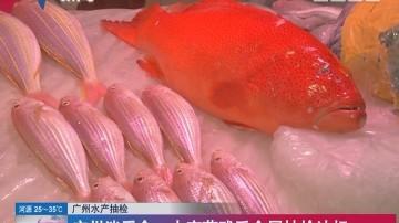广州水产抽检 广州消委会:水产药残重金属抽检达标
