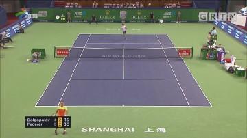 费德勒强势晋级上海大师赛八强