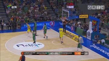 欧洲篮球 马拉加力克费内巴切