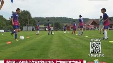 中德推出全新青少年足球培训理念 打造两国交流平台