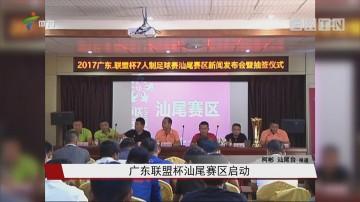 广东联盟杯汕尾赛区启动
