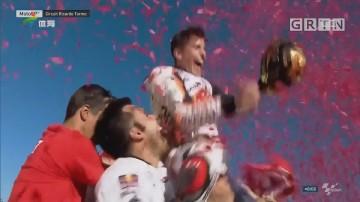 MotoGP巴伦西亚站 马奎兹四夺世界冠军