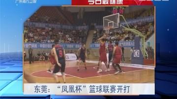"""今日最健康 东莞:""""凤凰杯""""篮球联赛开打"""