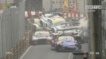 澳门格兰披治大赛车事故不断