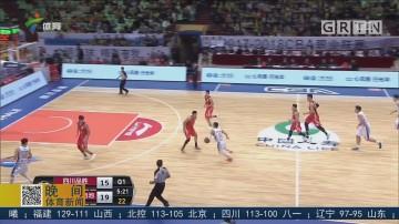 刘炜复出 四川力克八一取赛季首胜