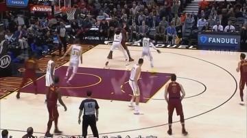 NBA:骑士轻取老鹰迎两连胜