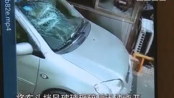 吴川:小区私家车被打砸 警方介入调查