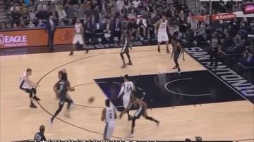 NBA:马刺109-97轻取篮网