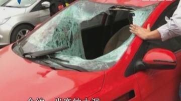 深圳:男子从24楼坠落砸中小车 竟奇迹生还