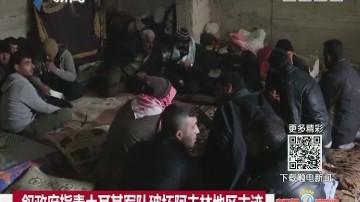 叙政府指责土耳其军队破坏阿夫林地区古迹