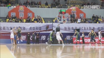 广东客场大胜天津 王薪凯发挥亮眼