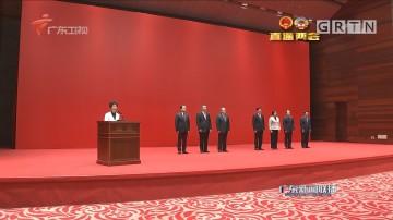 新一届省人大常委会领导班子与记者见面