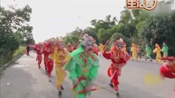 英歌舞在潮汕地区流行了400多年