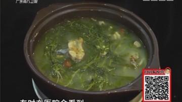 制作塘葛菜生鱼汤