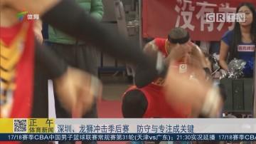深圳、龙狮冲击季后赛 防守与专注成关键