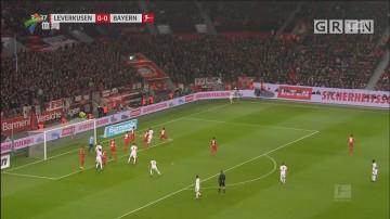 新援首秀 拜仁慕尼黑作客击败勒沃库森