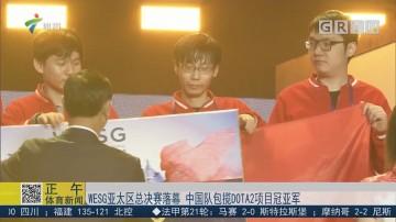 WESG亚太区总决赛落幕 中国队包揽DATA2项目冠亚军