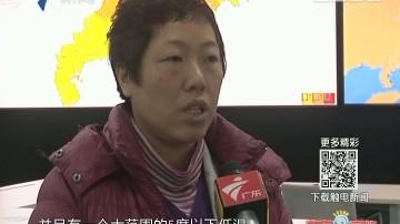 广州:寒冷天气来袭 市民应注意御寒