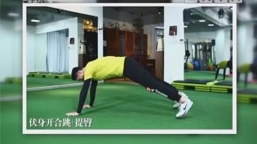 [2018-02-26]五分钟热度:伏身开合跳+提臀