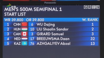 冬奥中国首金!武大靖两破世界纪录夺冠