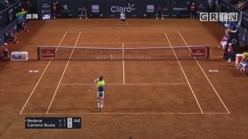 """ATP里约赛 西里奇遭遇""""一轮游"""""""