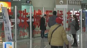 广州南站:搭城轨在一层候乘 少走500米路