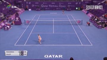 WTA多哈赛 哈勒普、沃兹尼亚奇携手晋级