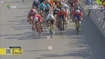环迪拜自行车赛 卡文迪什夺第三赛段冠军