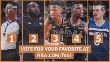 NBA五大囧