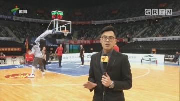 CBA记者现场连线:深圳 vs 广厦