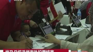 埃及总统选举海外投票结束