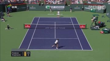 ATP印第安维尔斯赛 费德勒轻松晋级16强