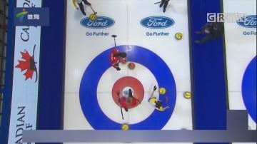中国女子冰壶队遭遇两连败